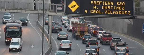 El coronavirus impacta a las autopistas concesionadas: tráfico se reduce hasta en un 70%