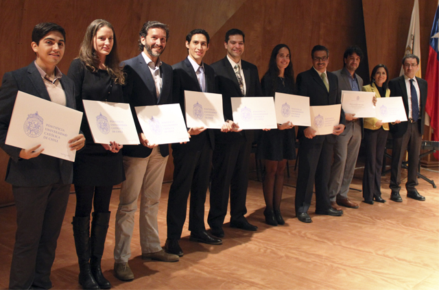 Educación Profesional Ingeniería UC celebró ceremonia de entrega de diplomas