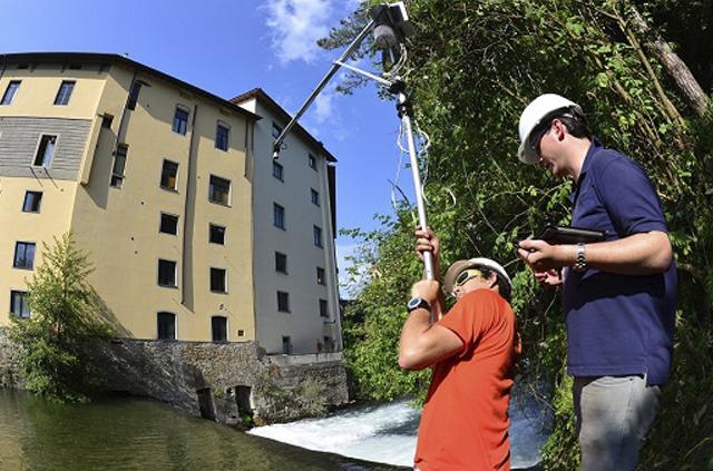 Italia monitorea ríos con tecnología chilena para alterar aluviones