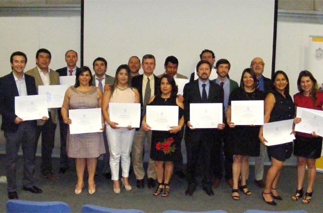 Ceremonia de Graduación de Diplomado realizado para la empresa Colbún