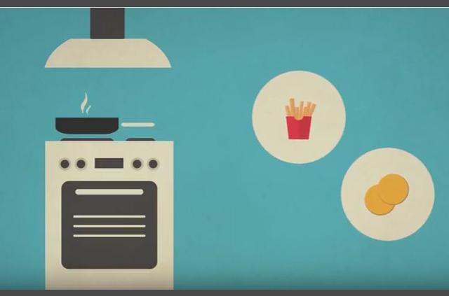Ingenieros lanzan video sobre cómo dorar alimentos en casa para prevenir cáncer
