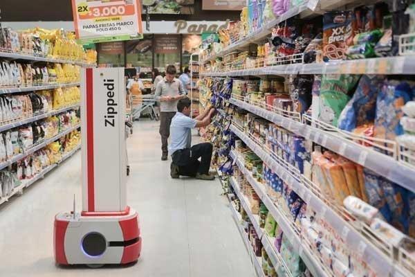 Académico de Ingeniería crea innovador robot que monitorea góndolas de supermercados