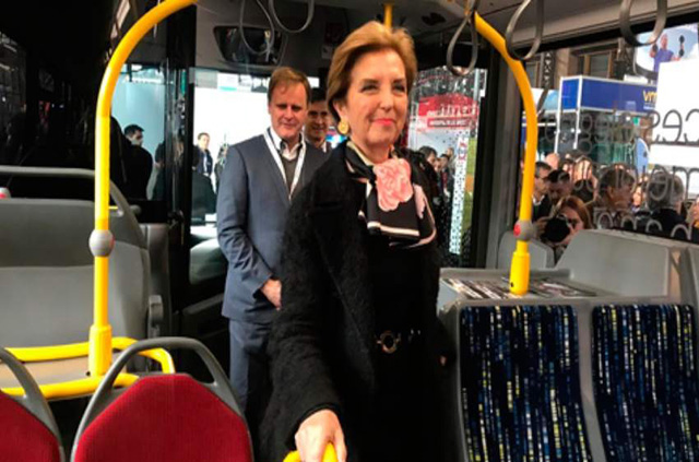 Santiago será la segunda ciudad con más buses eléctricos del mundo en 2019