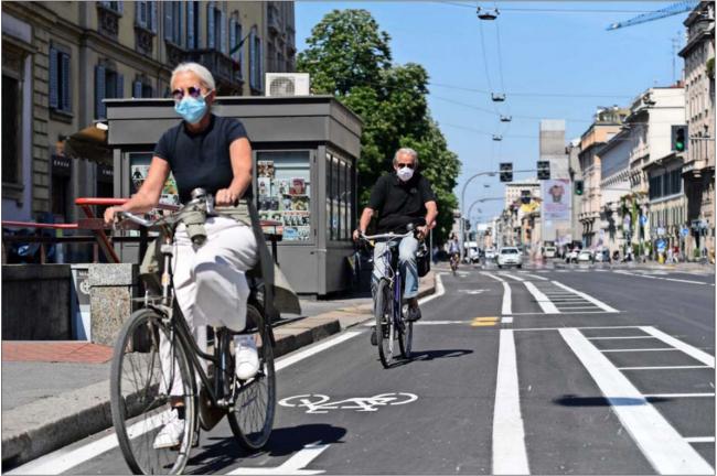 Promueven el uso de la bicicleta como un gran aliado durante y tras la pandemia