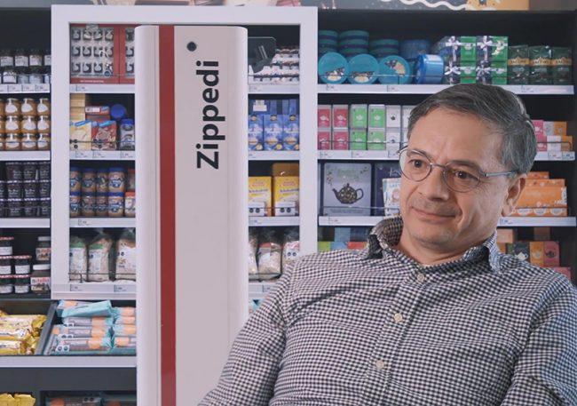 Robot chileno «Zippedi» ahora ayuda en la lista de compras del supermercado