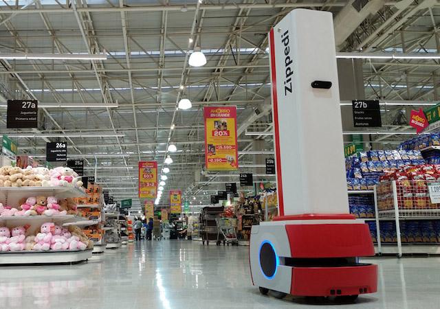 Robot desarrollado en Chile podría optimizar en un 30% el tiempo de compra en supermercados