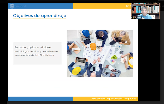 Charla informativa Diplomado en Lean Project Management