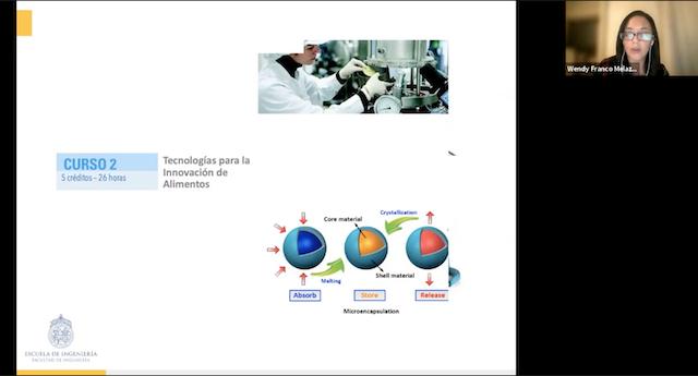 Charla informativa Diplomado de Innovación en Alimentos: Desafíos y Oportunidades para la Industria
