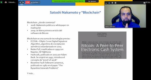 Webinar UC: «Blockchain Empresarial, más allá de las criptomonedas»