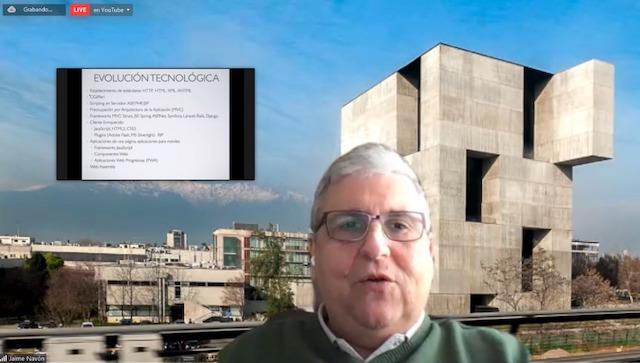 Webinar UC: «La Web como plataforma de software, pasado, presente y futuro»