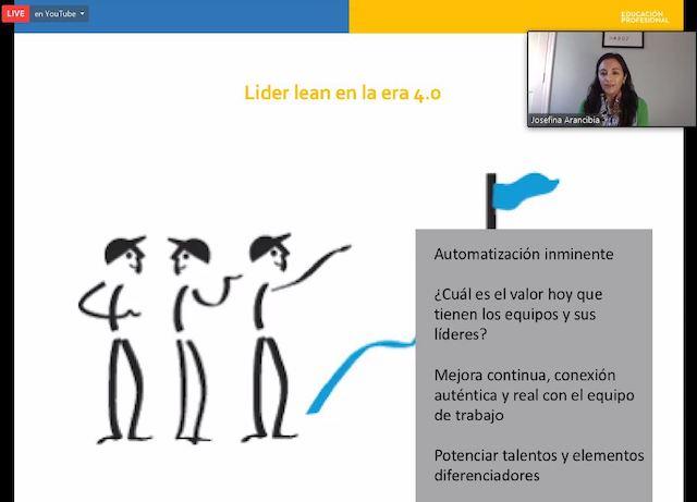 Webinar UC: «Liderazgo Lean para la cultura 4.0»