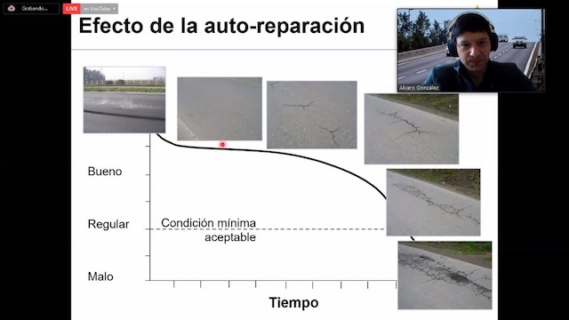 Webinar UC: «Caminos que se auto-reparan ¿ciencia ficción o realidad?»