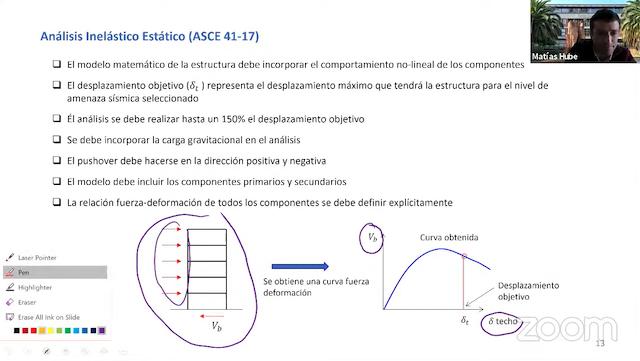 Webinar UC: «Diseño sísmico basado en el desempeño»